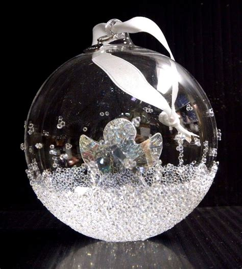 ball ornament large annual edition 2015 xmas crystal 2015