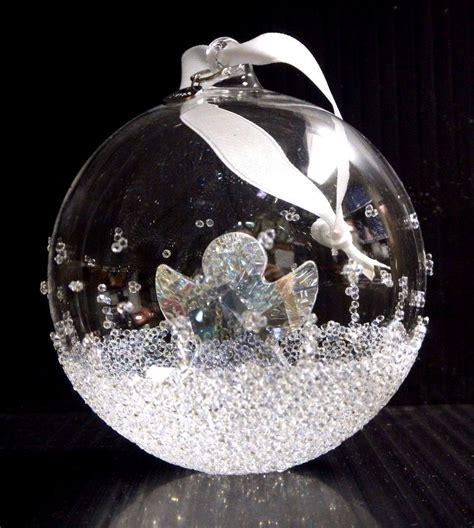 ball ornament large annual edition 2015 xmas crystal 2015