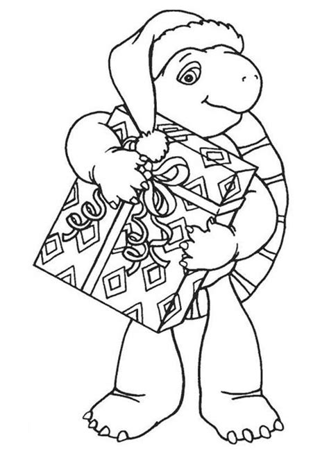 christmas turtle coloring page batch coloring