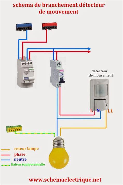 Schema De Commande Eclairage by Sch 233 Ma Electrique Simple D 233 Tecteur De Mouvement Sch 233 Ma
