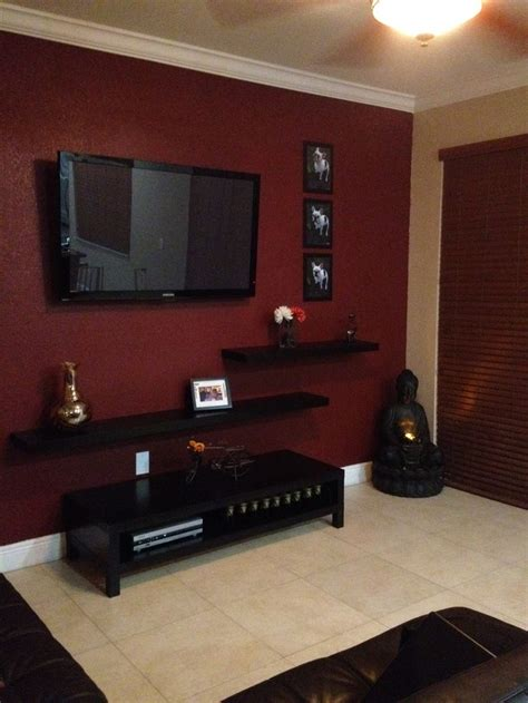 kitchen tv wall mount fabulous corner tv wall mount love the wall color and of coarse buddha in the corner