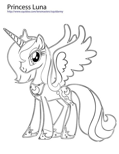 my little pony coloring pages princess luna and celestia mlp luna anime coloring pages