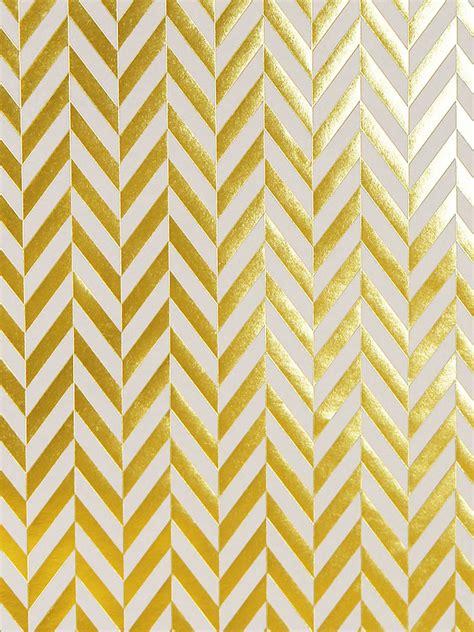 gold foil gift wrap herringbone gold foil sted luxury modern designer