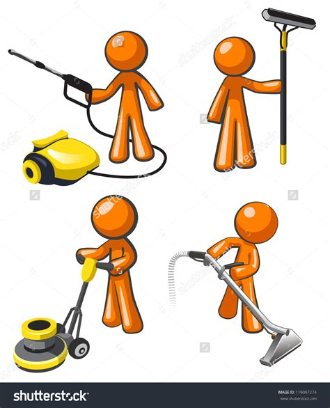cleaning clip janitorial services clipart