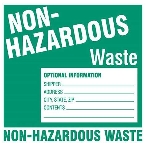 Drum Labels Free Hazardous Waste Label Template