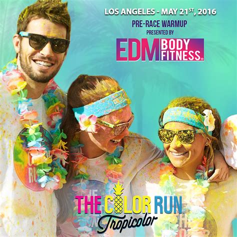 the color run los angeles the color run los angeles ca 2016 edm fitness