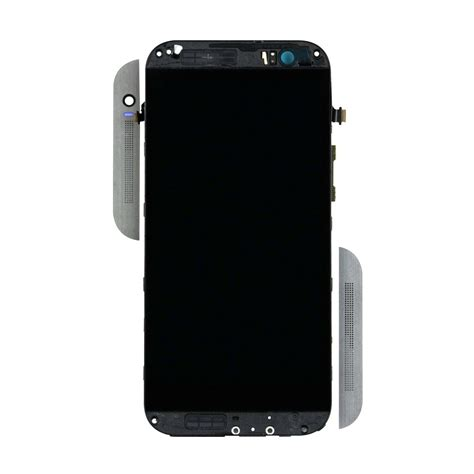 Lcd Htc M8 htc one m8 lcd touch screen assembly with frame gunmetal gray
