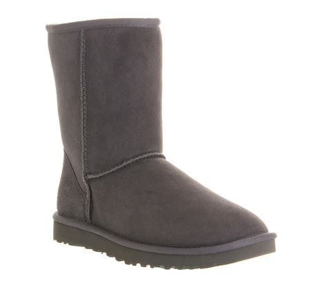 gray boots ugg grey classic boots in gray grey lyst