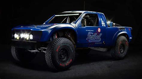 ford raptor trophy truck owned  la dodgers owner  gnarly car   life