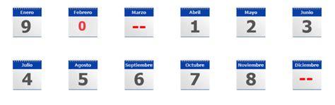 Calendario 9 Digito Calendario De Revisi 243 N T 233 Cnica