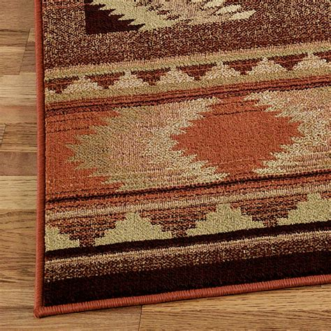 touch of class rugs rancho square rug copper 8 square touch of class