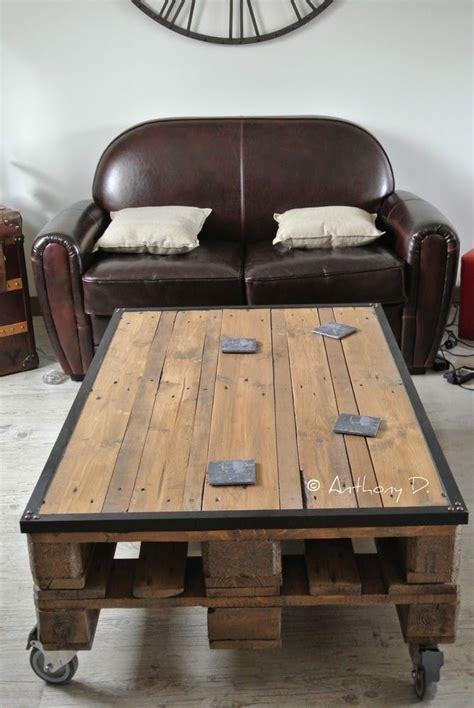 Tables Basses En Palettes by Table Basse En Palettes