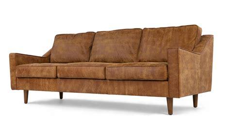 sofa 3 sitzer leder dallas 3 seater sofa outback premium leather made