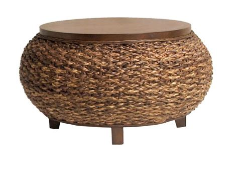 wicker coffee table with storage unique coffee tables - Wicker Storage Coffee Table