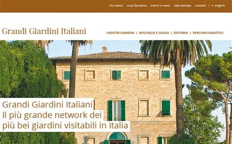 i grandi giardini italiani grandi giardini italiani engitel