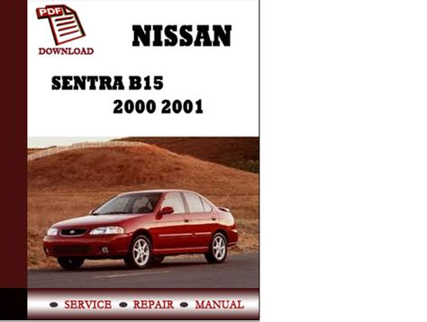 car maintenance manuals 2001 nissan sentra on board diagnostic system manual lock repair on a 2001 nissan sentra 2001 nissan sentra repair shop manual original 5