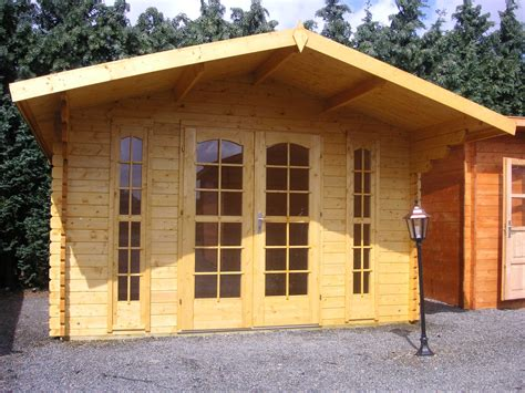 Garden Shed Log Cabin by Garden Log Cabin Shed Spruce Picea Abies Whitewood