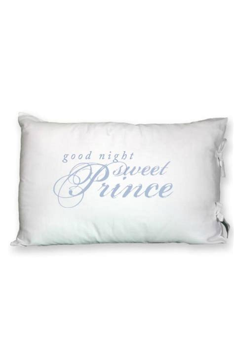 Goodnight Sweet Prince Pillow by Faceplant Dreams Goodnight Pillow From Alabama By Vintage