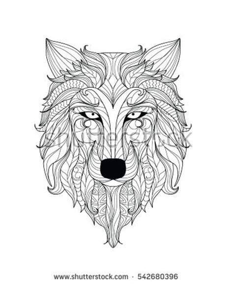 wolf mandala coloring page mandala pages wolf coloring pages