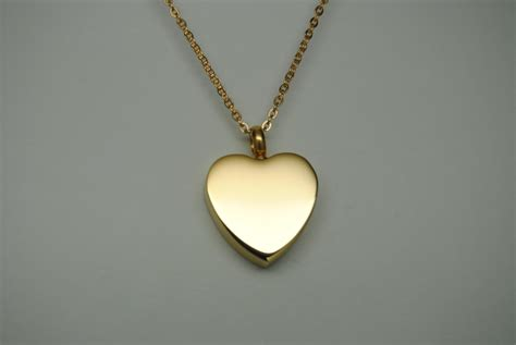 gold cremation jewelry ashes urn necklace engravable