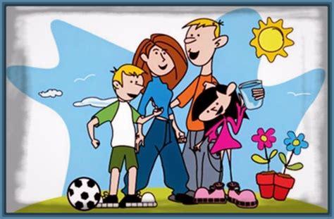 imagenes sobre la familia en caricatura imagenes de dibujos animados de familias archivos