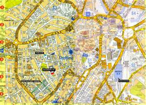 sheffield map large sheffield maps for free and print high