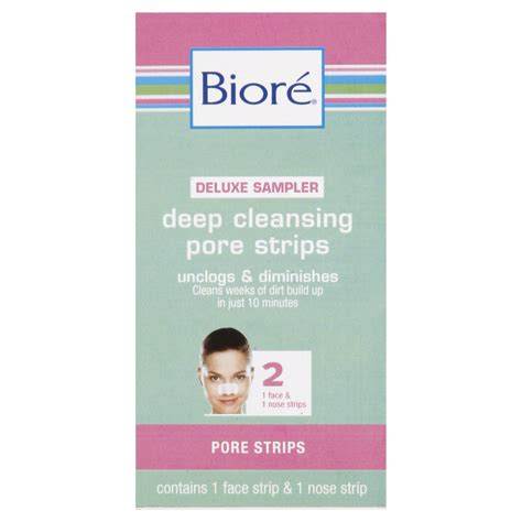 Pore Detox Means What by 019100159297 Upc Biore Cleansing Pore Strips 1