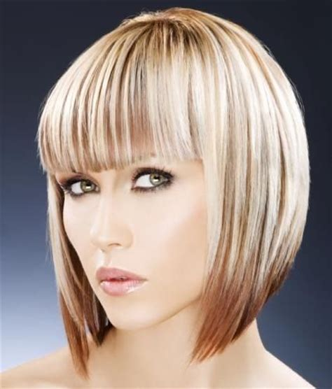 graduated bob with fringe hairstyles concave bob tapered haircut ideas pinterest concave