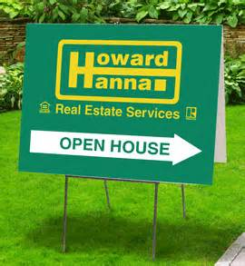howard open house directional tent signs 6 styles