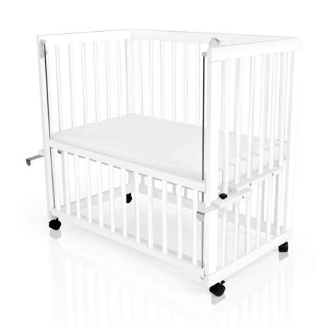 babybett gleichzeitig beistellbett baby beistellbett babybett h 246 henverstellbar wei 223 oder