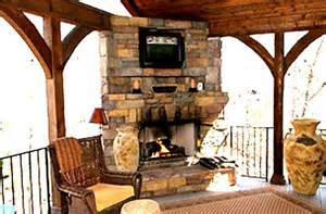fireplace charlotte kitchen open porch stone custom fireplace on an open porch in ballantyne covered porches