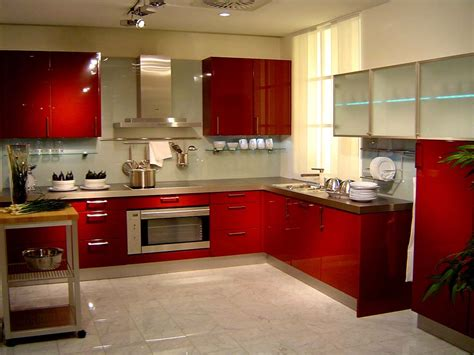 pic of kitchen design red designs for kitchen cabinets 2016