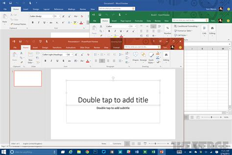 Microsoft Office 2016 Includes A Colorful New Theme The Microsoft Office Themes