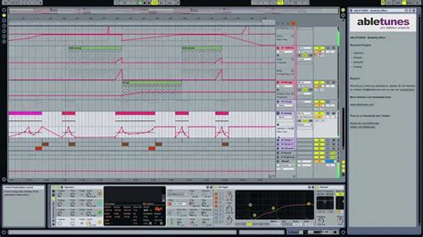 Progressive House Ableton Live Template Butterfly Effect By Abletunes Youtube Ableton House Template