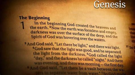 book of genesis chapter 1 verse 16 genesis