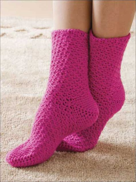 pattern socks free free crochet sock pattern
