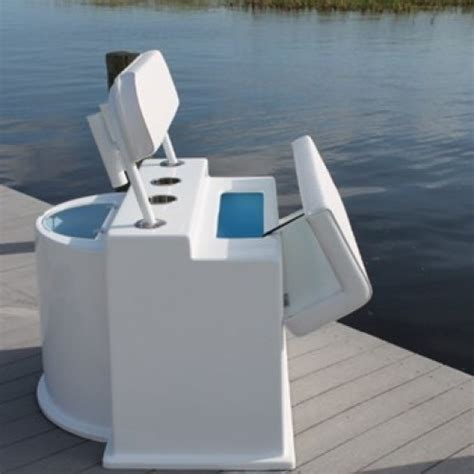 boat livewell cleaner cmdflplw deluxe leaning post with live well