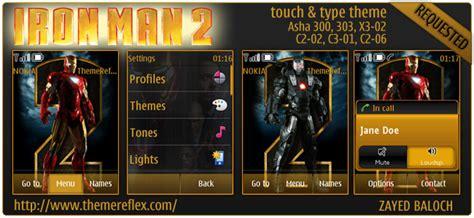 nokia 5130 iron man themes c2 02 themereflex