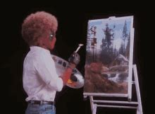 bob ross painting gif deadpool omg gif deadpool omg shocked discover