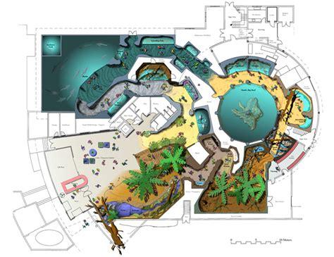 aquarium floor plan portico new zealand national aquarium