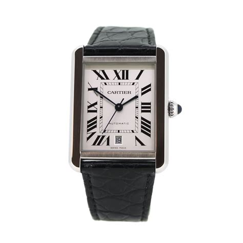 pre owned cartier tank ref w5200027 ramsdens