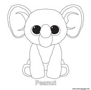 beanie boo coloring pages peanut beanie boo coloring pages printable