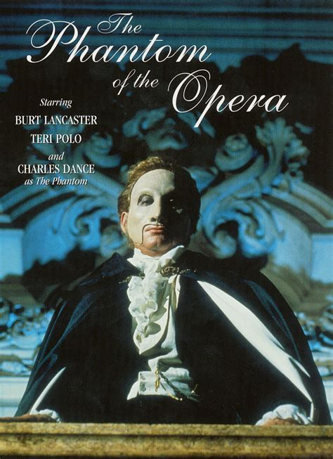 love themes from the grand opera plate the phantom of the opera 1990 tony richardson