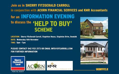 buy house government scheme government help to buy house scheme sherry fitzgerald carroll to host information