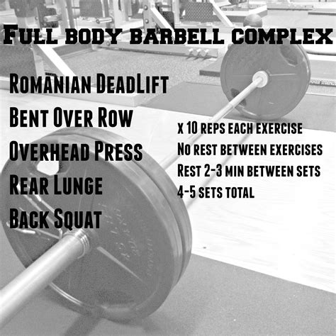 barbell complex i therefore i eat