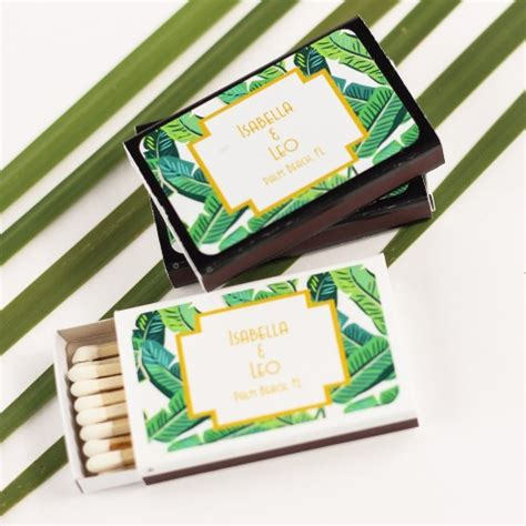 wedding favors matchboxes matches matchbooks ideas for your wedding