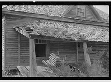 A glimpse of rural life in Georgia in 1939, times were ... Sharecropping House
