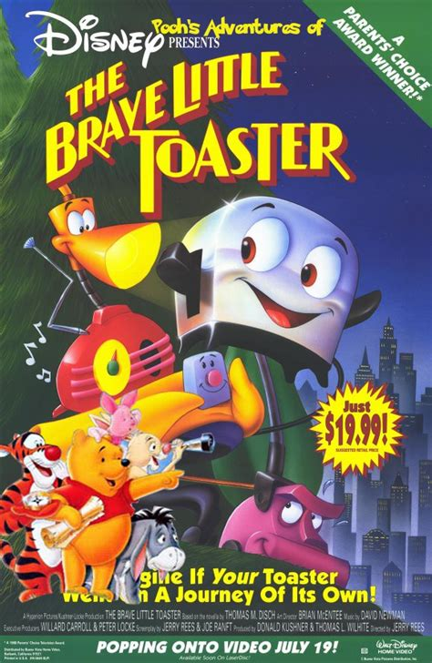 Toaster Adventure Pooh S Adventures Of The Brave Little Toaster Pooh S