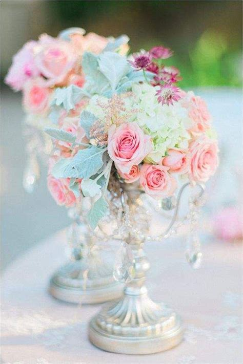 Pretty Table Decorations 27 Stunning Wedding Centerpieces Ideas Tulle Chantilly Wedding