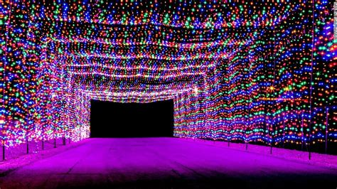 best places to see christmas lights from d c to las vegas